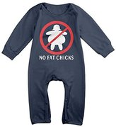 Barkono Short-Sleeve Bodysuit Ann Coulter No Fat Chicks