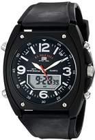 U.S. Polo Assn. Sport Men's US9052 Analog-Digital Dial Rubber Strap Watch