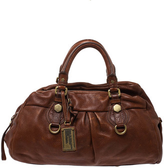 Marc by Marc Jacobs Brown Leather Classic Q Baby Groovee Satchel
