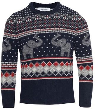 Thom Browne Elephant sweater
