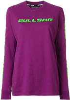 House of Holland Bullshit long-sleeved top