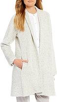 Eileen Fisher Wool/Aplaca Kimono Jacket