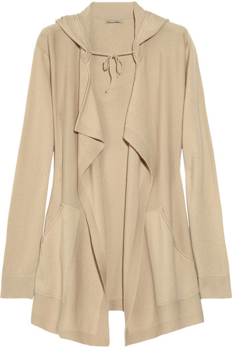 Tomas Maier Hooded cashmere cardigan