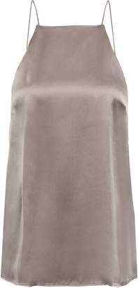 CAMI NYC Guipure Lace-trimmed Silk-satin Camisole