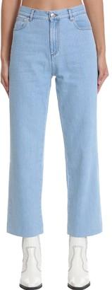 A.P.C. New Sailor Jeans In Cyan Denim