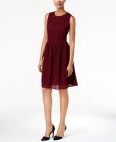 Tommy Hilfiger Crochet Fit & Flare Dress