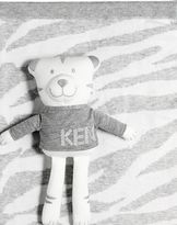 Kenzo Doubled Knitted Cotton Blanket & Animal