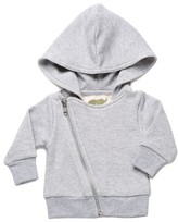 Infant Boy's Monica + Andy Organic Cotton Sweatshirt Moto Jacket