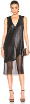 Prabal Gurung Dusted Pailette Embroidery Dress
