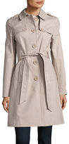 Kate Spade Button Front Trench Coat