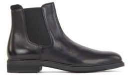 BOSS Italian-made Chelsea boots in leather with Outlast lining