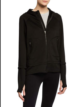 BCBGMAXAZRIA Kate Soft Scuba Jacket