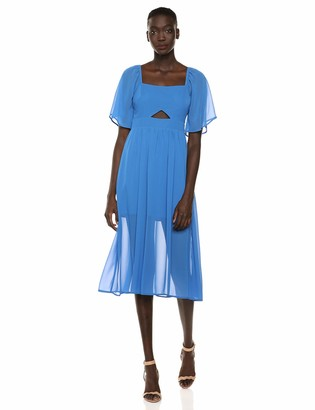 BCBGeneration Women's Flared Cutout Dress