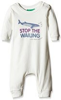Little Green Radicals Unisex Baby Stop The Wailing Playsuit Romper,0-3 Months
