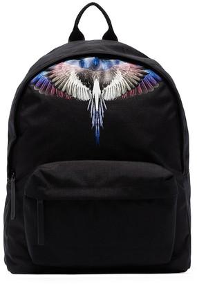Marcelo Burlon County of Milan Wings logo print backpack