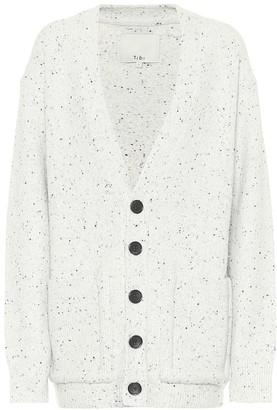 Tibi Tweedy wool-blend cardigan