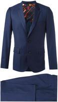 Paul Smith flap pockets two-piece suit - men - Viscose/Wool - 38