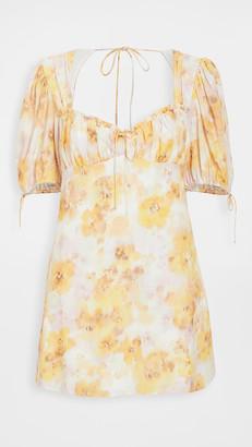 For Love & Lemons Zinna Mini Dress