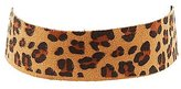 Charlotte Russe Leopard Choker Necklace