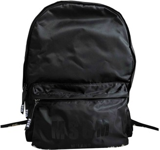 MSGM Black Synthetic Bags