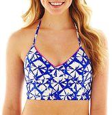 Arizona Tie-Dyed Halter Midkini Swim Top