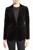 Frame Women's Stretch Velvet Blazer