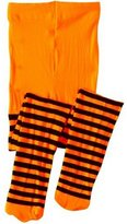 Jefferies Socks Socks Girls Bold Striped Footed Tights Size 2 to 10 years- 4 Color Combinations!!