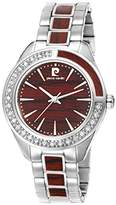 Pierre Cardin Neuilly Women's Quartz Watch with Brown Dial Analogue Display and Gold Stainless Steel Bracelet PC106832S08