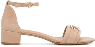 Salvatore Ferragamo Double Gancini sandals