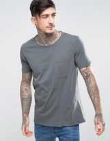 Nudie Jeans Co Luka Skewed Pocket T-shirt