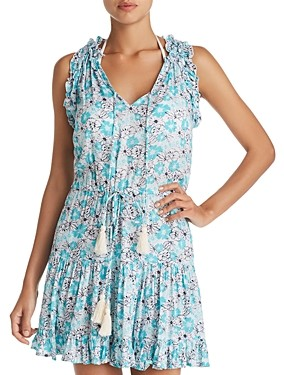 Cool Change Coolchange Haley Floral Tunic Swim Cover-Up
