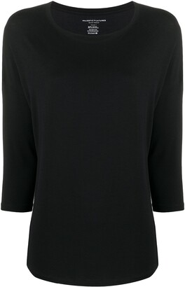 Majestic Filatures 3/4 Sleeve Top
