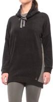 Cuddl Duds Fleecewear Tunic Lounge Shirt - Long Sleeve (For Women)