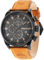 Timberland Men's Henniker 2 Brown Leather Strap Watch 46x53mm TBL14816JLB02
