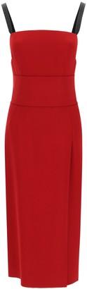 Dolce & Gabbana midi dress with sash belt