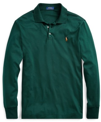 Ralph Lauren Custom Slim Fit Interlock Polo
