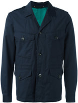 Paul Smith military jacket - men - Cupro/Wool - M