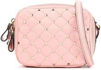 Valentino Rockstud Spike Mini Quilted Leather Shoulder Bag