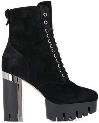 Le Silla Roxy chunky tread ankle boots