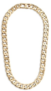 BaubleBar Curb Chain Collar Necklace, 18