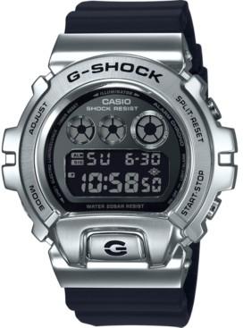 G-Shock Men's Digital Black Resin Strap Watch 50mm