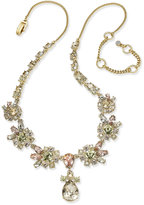 Givenchy Gold-Tone Multi-Stone Statement Necklace