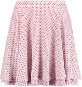 Rebecca Minkoff Ruffled polka-dot crepe mini skirt
