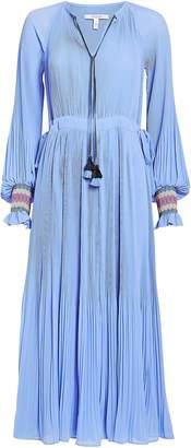 Derek Lam 10 Crosby Nemea Crepe Plisse Maxi Dress