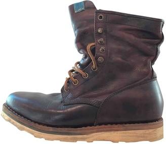Visvim Brown Leather Boots