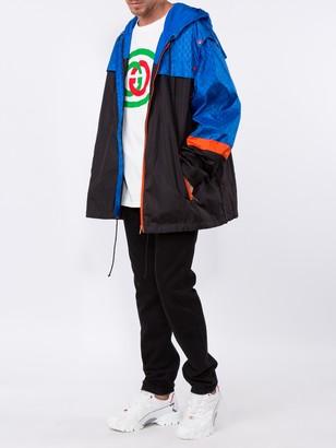 Gucci Gg Jacquard Nylon Vest Jacket
