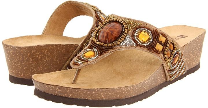 White Mountain Brio (Brown Multi) - Footwear