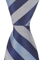 """Brooks Brothers Brooks BrothersLittle/Big Boys 4-20 50"""" Diagonal Stripe Tie"""