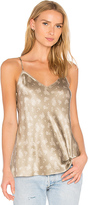 Vince Floral Cami in Beige. - size L (also in M,S)