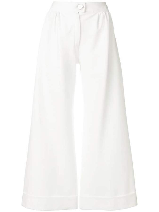 Gianluca Capannolo wide cropped trousers